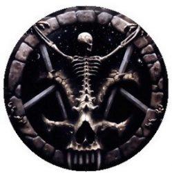 SLAYER: Divine Intervention (jelvény, 2,5 cm)