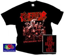 KREATOR: Pleasure To Kill (póló)