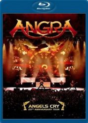 ANGRA: Angels Cry (20th Anniv. Live) (Blu-ray, 126', kódmentes)