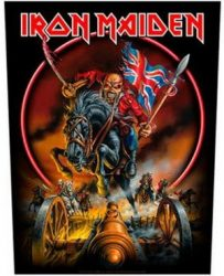 IRON MAIDEN: England (hátfelvarró / backpatch)