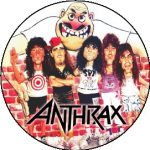 ANTHRAX: State Cartoon (jelvény, 2,5 cm)