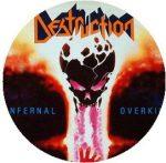 DESTRUCTION: Infernal Overkill (jelvény, 2,5 cm)