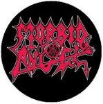 MORBID ANGEL: Logo (jelvény, 2,5 cm)