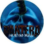 PANTERA: Far Beyond Driven (jelvény, 2,5 cm)