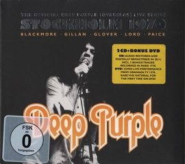 DEEP PURPLE: Stockholm 1970 (2CD+DVD)