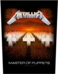 METALLICA: Master Of Puppets (hátfelvarró / backpatch)