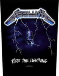 METALLICA: Ride The L. (hátfelvarró / backpatch)