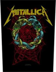METALLICA: Tangled Web (hátfelvarró / backpatch)
