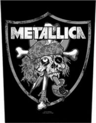 METALLICA: Raiders (hátfelvarró / backpatch)