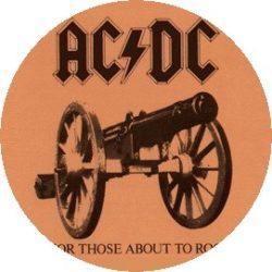 AC/DC: For Those (jelvény, 2,5 cm)