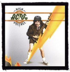 AC/DC: High Voltage (95x95) (felvarró)