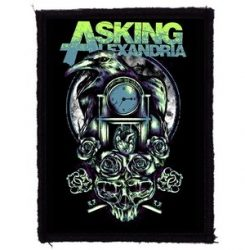 ASKING ALEXANDRIA: Crow Time (70x95) (felvarró)