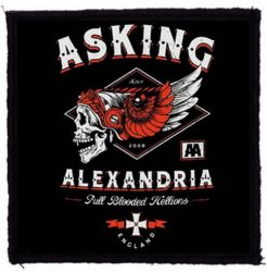 ASKING ALEXANDRIA: Full Blooded (95x95) (felvarró)