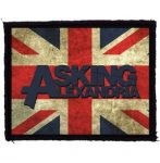 ASKING ALEXANDRIA: GB (95x75) (felvarró)