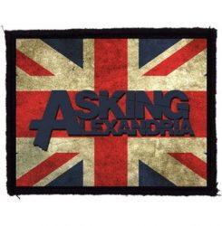 ASKING ALEXANDRIA: GB (95x75) (felvarró)