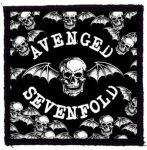 AVENGED SEVENFOLD: BW Bats (95x95) (felvarró)