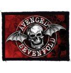AVENGED SEVENFOLD: Circle Logo (95x70) (felvarró)