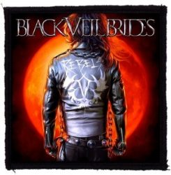 BLACK VEIL BRIDES: Rebel (95x95) (felvarró)