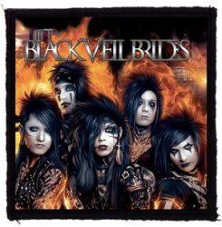 BLACK VEIL BRIDES: Set The World (95x95) (felvarró)