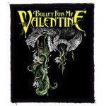 BULLET FOR MY VALENTINE: Dragon (85x95) (felvarró)