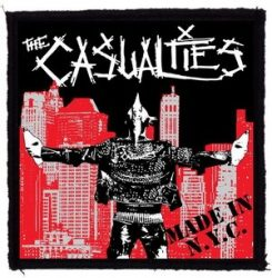 CASUALTIES: Made In NYC (95x95) (felvarró)