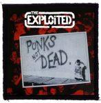 EXPLOITED: Punks Not Dead (95x95) (felvarró)