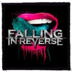 FALLING IN REVERSE: Tongue (95x95) (felvarró)