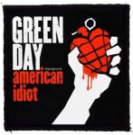 GREEN DAY: American Idiot (95x95) (felvarró)