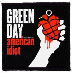 GREEN DAY: American Idiot (95x95) (felvarró)