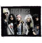 GUNS N' ROSES: Band (95x75) (felvarró)