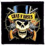 GUNS N' ROSES: Kalapos (95x95) (felvarró)