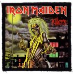 IRON MAIDEN: Killers (95x95) (felvarró)