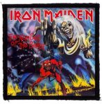 IRON MAIDEN: Number Of The Beast (95x95) (felvarró)