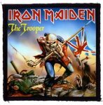 IRON MAIDEN: Trooper (95x95) (felvarró)