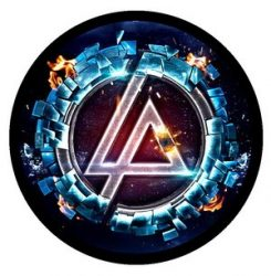 LINKIN PARK: Iridescent (circle, 95 mm) (felvarró)