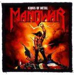 MANOWAR: Kings Of Metal (95x95) (felvarró)
