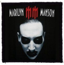MARILYN MANSON: MM (95x95) (felvarró)