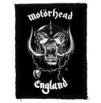 MOTORHEAD: England (70x95) (felvarró)