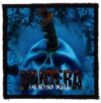 PANTERA: Far Beyond (95x95) (felvarró)