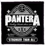 PANTERA: Stronger (95x95) (felvarró)
