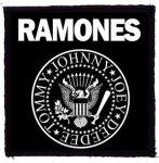 RAMONES: Logo (95x95) (felvarró)