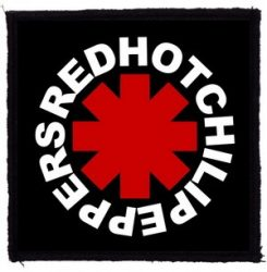 RED HOT CHILI PEPPERS: Logo (95x95) (felvarró)