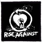 RISE AGAINST: Fist (95x95) (felvarró)