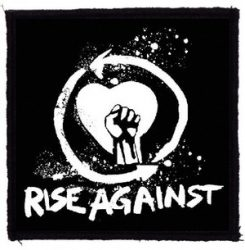 RISE AGAINST: Fist (95x95) (felvarró)