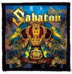 SABATON: Carolus (95x95) (felvarró)