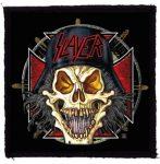 SLAYER: Skull (95x95) (felvarró)