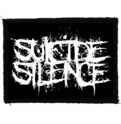 SUICIDE SILENCE: Logo (95x70) (felvarró)