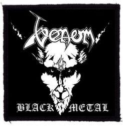 VENOM: Black Metal (95x95) (felvarró)