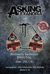 ASKING ALEXANDRIA: GB (bikini top) (akciós!)