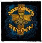 AMON AMARTH: Sweden Logo (95x95) (felvarró)